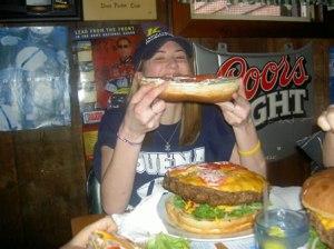 That's a BIG burger