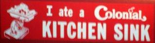 Colonial Bumper Sticker