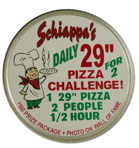 Schiappa's Pizza Challenge