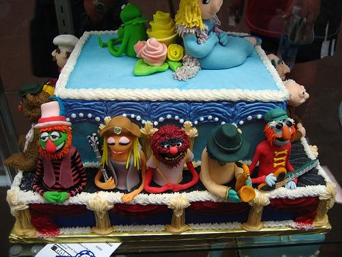Muppet Cake by Adam Newbold