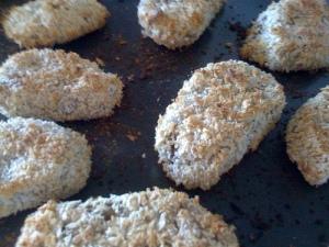"Oven-Fried ""Chicken"" Patties"