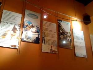 Wall Decor @ Chutney Joe's